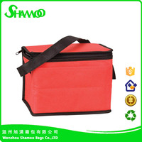 Hottest cheap promotional nonwoven picnic can wine bottle cooler bag