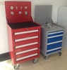 China Luoyang factory metal tool chest roller cabinet steel tool box cabinet with tools