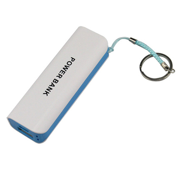 Low price ABS plastic material customized logo printing promotional gift 2000mAh power bank
