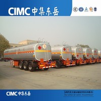 carbon steel , stainless steel , aluminium fuel tanker small fuel tank trailer