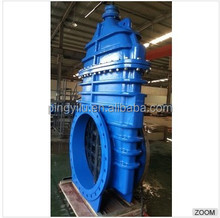 Casting steel long stem sluice gate valve with prices