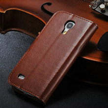 Colorful cover case for samsung galaxy s4 mini, flip case for galaxy s4 mini, stand leather case for samsung galaxy s4 mini