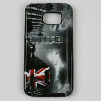 2015 Coloful high quality customize printing sublimation cell phone case for Galaxy S6