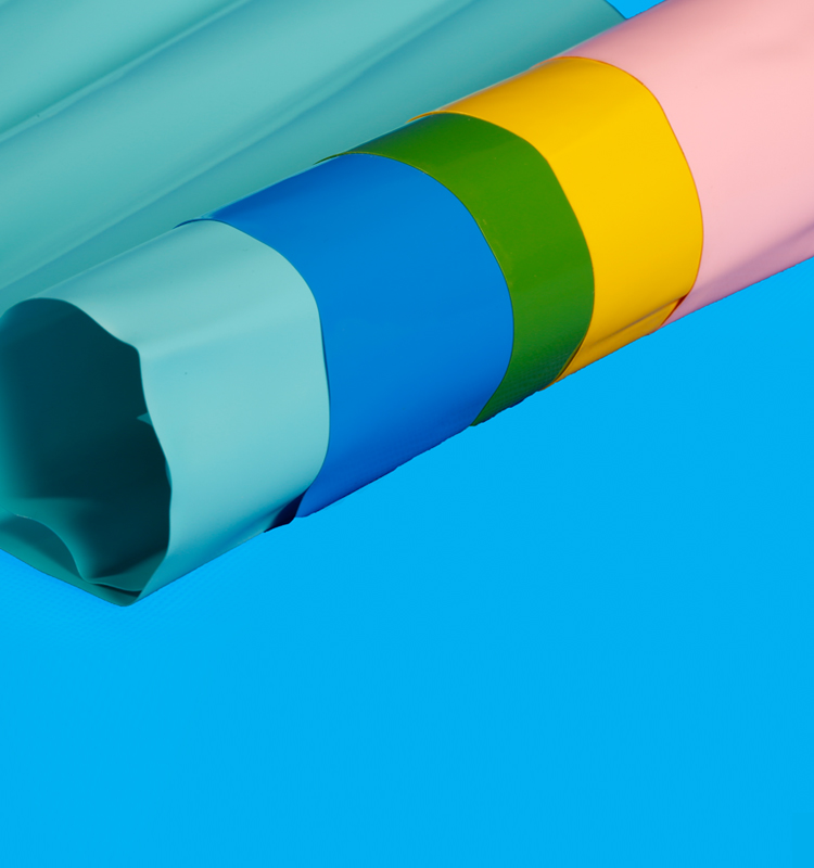 Custormed PVC foam sheet with colourful