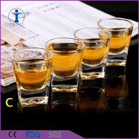 Good quality best price Colorful different style shot glass