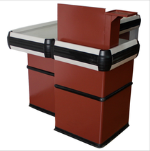 Modern design supermarket cashier counter table for sale