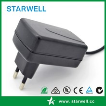 wall EU Power Adapter 12V 1A AC/DC switch mode power supply high quality