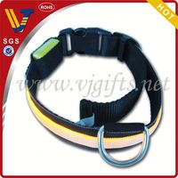 2014 Hot sales personalized slider letters nylon dog collar