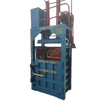 High quality cardboard baler/aluminum can baler for sale
