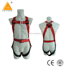 EN 361 certification safety harness with two big hook