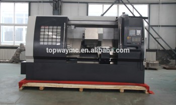 TCK Series CNC Inclined Bed Linear Guideway Turning Lathe machine