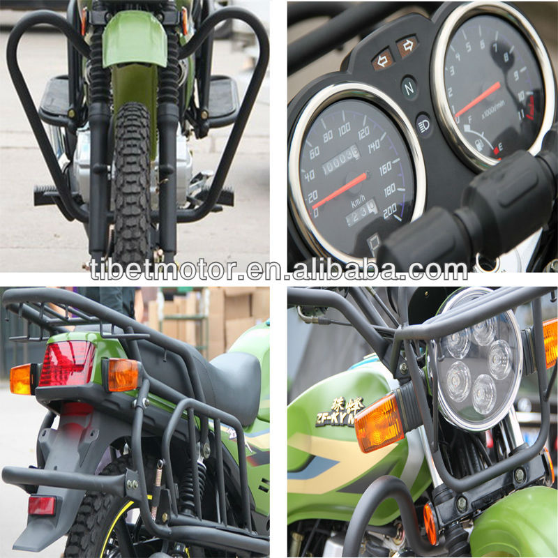 Luxury front footrest 200cc motobike with low price ZF200-3C (XVI)