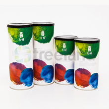 airtight canister cardboard tea packaging sleeve boxes of powder