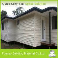 Strong Ecological Precast Plastic Timber Cladding Family House