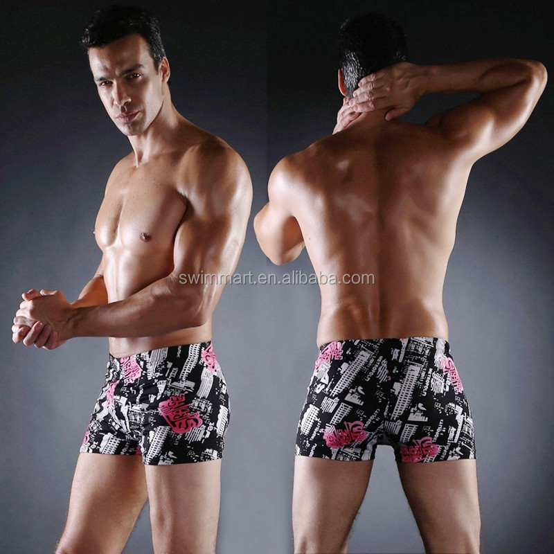 Wholesaler XXXL Sex Allover Print Fabric Sexy European swimwear men