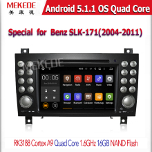Android 5.1.1 Quad Core Car Radio GPS For B e n z SLK R171 SLK 171 Car DVD Player (2004-2011) Stereo 16G ROM
