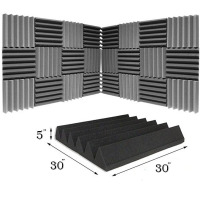 3D Sound Absorbing Acoustic Block Wall