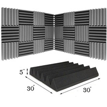 3D Sound Absorbing Acoustic Block Wall Panel Foam Roll Sound Proof Foam Soundproof Device Acoustic Foam