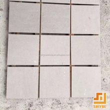Factory direct export polished cinderella grey custom cut marble table top