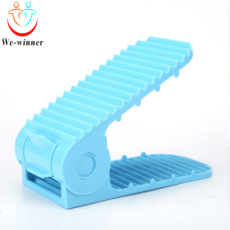 New design plastic shoe organizer rack cabinet for children baby kids