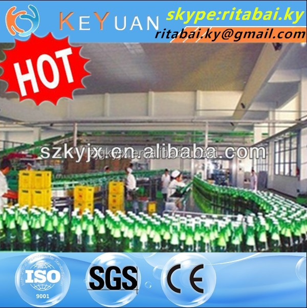 Automatic Carbonated drink filling machine 3in1/soft drink machine/soft drink mixing machine