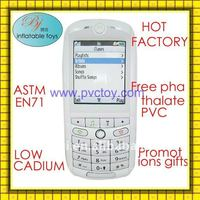 Newly plastic pvc air inflatable cell phone For Promotional