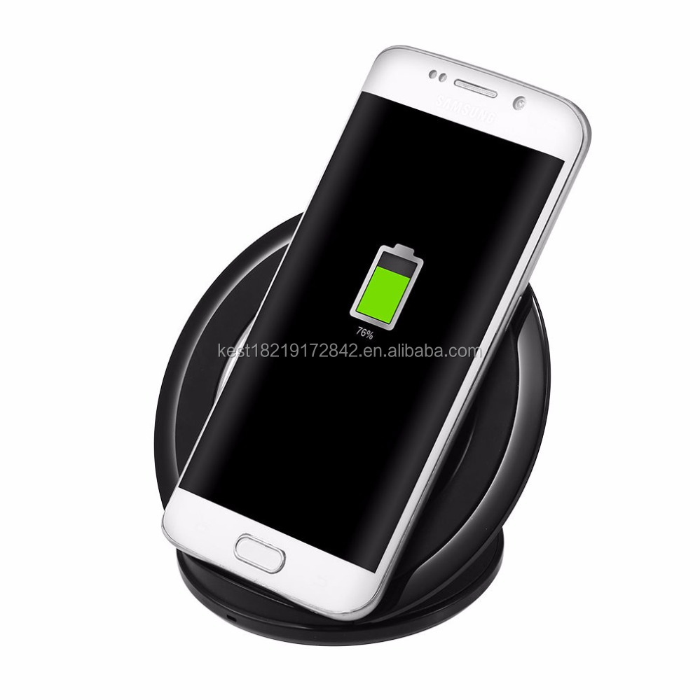 Aluminium Qi wireless charger receiver Fast Quick Chargers Phone Charging For iPhone 7 For Samsung Mobile Phone charger wireless