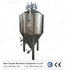Stainless steel home brew fermenter with racking arm,ball valve,thermometer