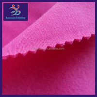 CVC brushed fleece 65 polyester 35 cotton fabric