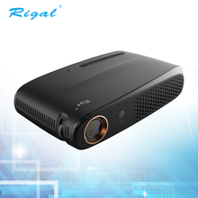 2017 Newest model mini DLP home use bluetooth beamer built-in Android and wifi system LED projector