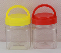 Mini Food Grade clear Plastic 250ml pet bottles