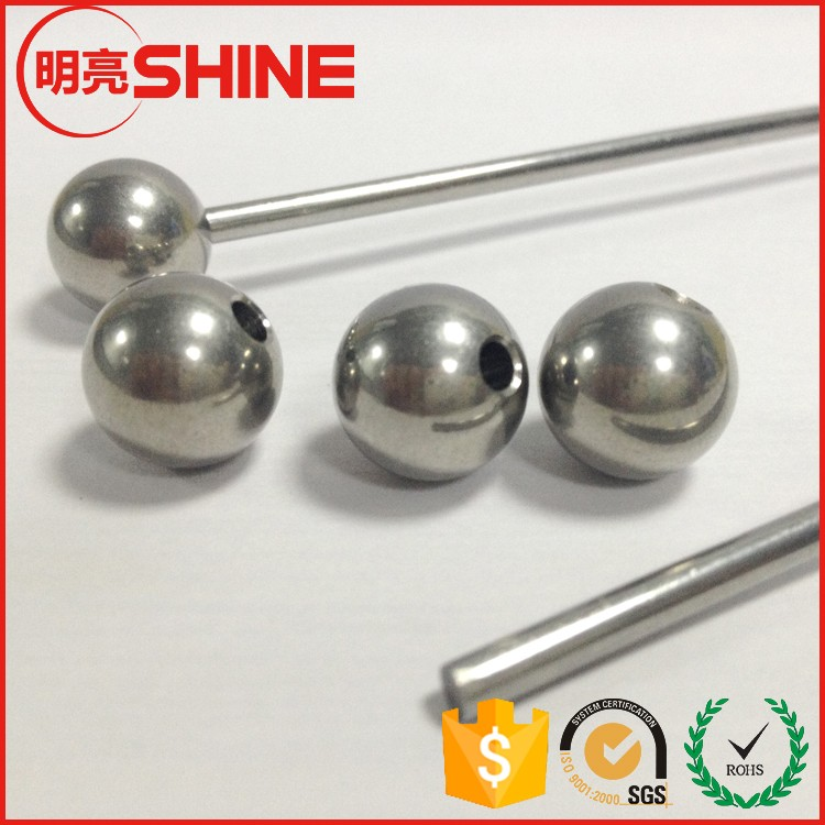 22mm Stainless Steel Ball With 3/4 Inch Drilled Hole
