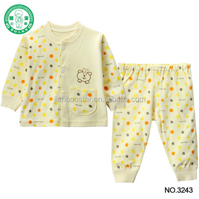 Organic Cotton Flannel Baby Clothes Wholesale Used