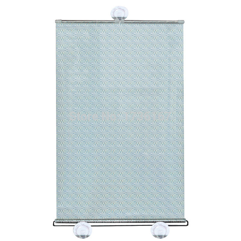 HOT Car Retractable shutter curtains Sun Shade Sunshield sunshade insulated curtain Laser sun block  silver 68*125CM CIAS032
