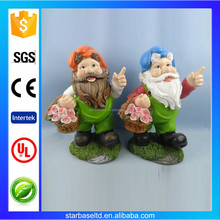 OEM resin seven dwarf garden decoration statue