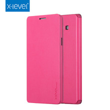 Luxury High Quality Pink PU Leather Phone Case Flip Case Cover Stand For Samsung Galaxy A7