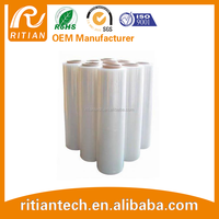 Manufacturer hot sale low price transparent film PE winding /stretch film good package used in different industries
