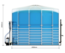 assembled PUXIN medium scale bio digester power plants for industry fuel and electricity