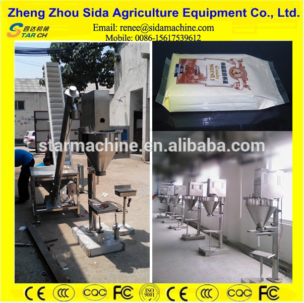 Wheat Flour Packing Machine for Amala Yam/Cassava/Cocoa/Chilli Powder Packing