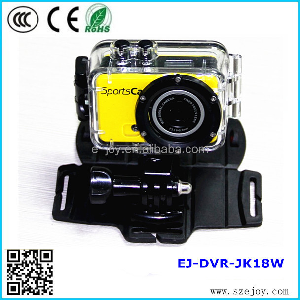 WIFI design EJ-DVR-JK18W 5.0 Mega Pixels advanced portable hd 720p mini underwater camcorder