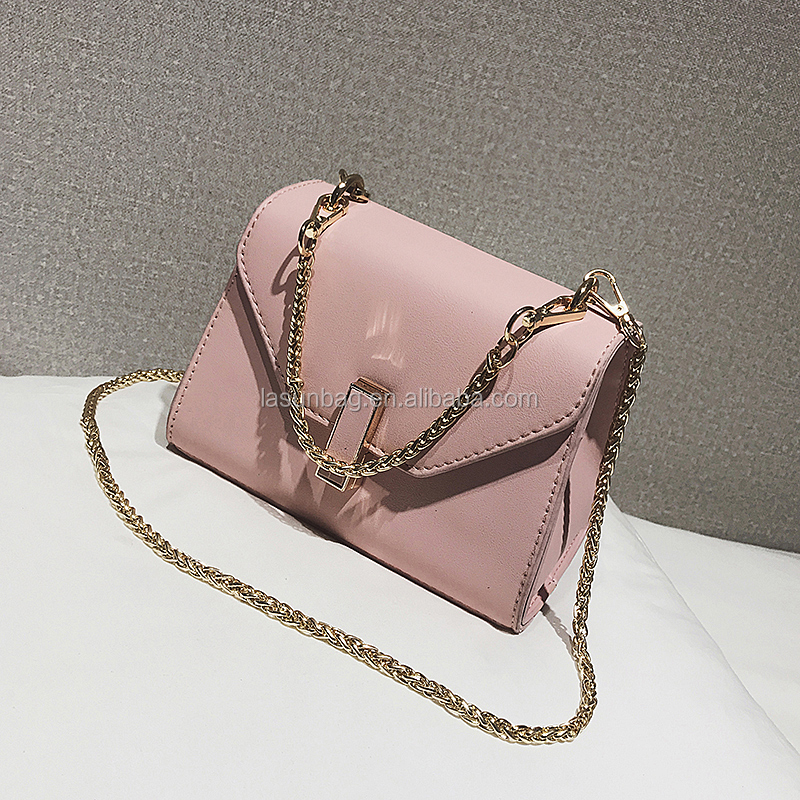 Cheap Summer Hot Sale Design Chain Strap Women Shoulder Handbags