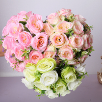 New products 2016 artificial flowers for wedding decoration