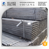 CHINA A500 HOT ROLLED CARBON SQUARE STEEL PIPE