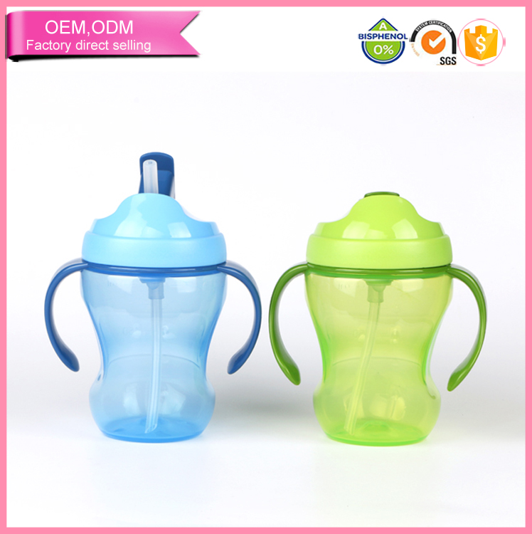 baby supplies slip proof 260ml pp drinking wholesale baby bottle