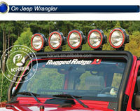 Jeep Wrangler Parts 7inch hid off road light 35/55w/75w/100w 12v/24v