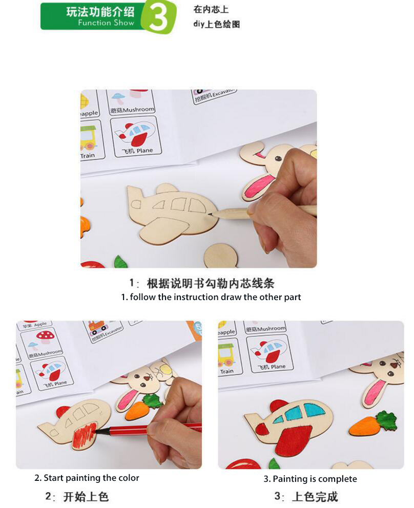 children drawing toys new style wooden drawing toys wooden painting color board