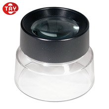 10X Jewelry Loupe Magnifier Stand Magnifying Glass