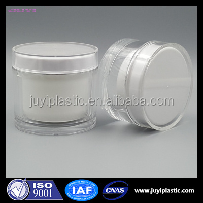 Hot Stamping 5ml 15ml 30ml 50ml 100ml 200ml Cheap Clear Frosted Cream Plastic Cosmetic Acrylic Jar Bottle Packaging