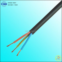 H05VV-F 3 cores 2.5mm flexible wire with PVC Insulation