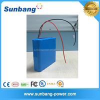 High quality rechargeable 18650 12v lithium batteries for solar systems 12v LED light